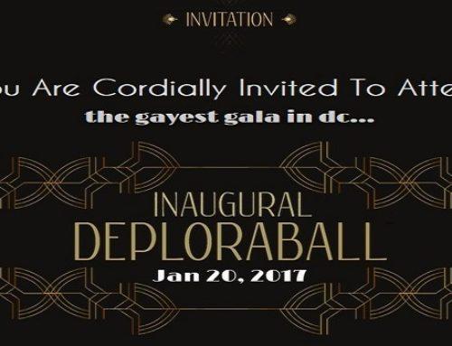 Gays for Trump' Hosting 'DeploraBall' Gala Night of Inauguration