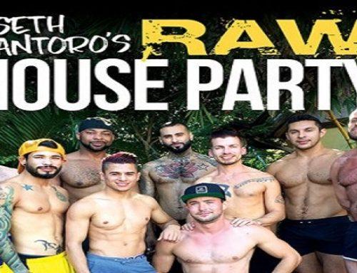 SkynMen Brings Gay Men Seth Santoro's Raw House Party