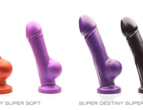 Tantus Bows Destiny, Super Destiny Dongs For Harness Play