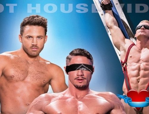 Nick Foxx Delivers Anonymous Hookups In Hot House' Blindfolded