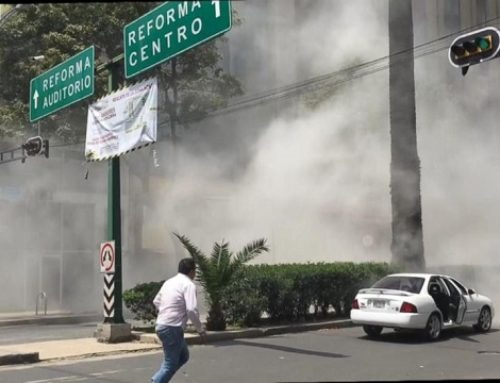 Watch Footage of 7.1 Mexico Earthquake Collapsing Buildings, Massive Explosions