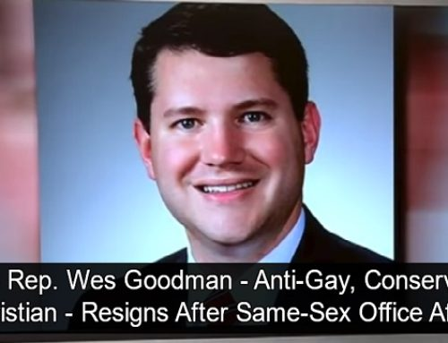Anti-Gay Ohio Rep. Resigns After Being Busted Having Gay Sex Affair