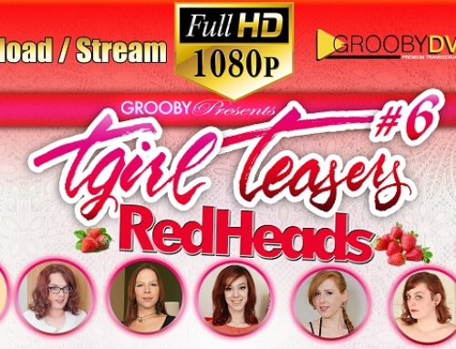 Grooby's 'TGirl Teasers #6: Redheads' Streets