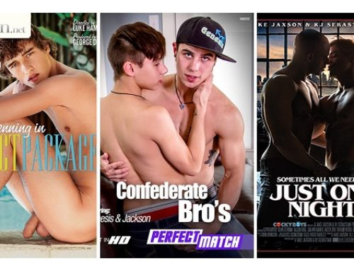 Gay DVDs Coming Soon to Retail Stores for 12-14-17