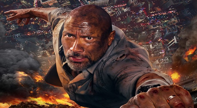 Skyscraper: Watch Trailer #2: Dwayne Johnson
