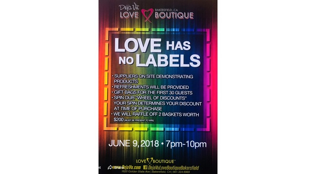 Dejavu Love Boutique PRIDE Night