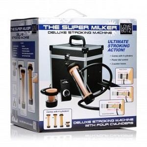 Super Milker Deluxe Stroker Machine