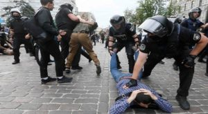 Kiev Police arrests at PRIDE