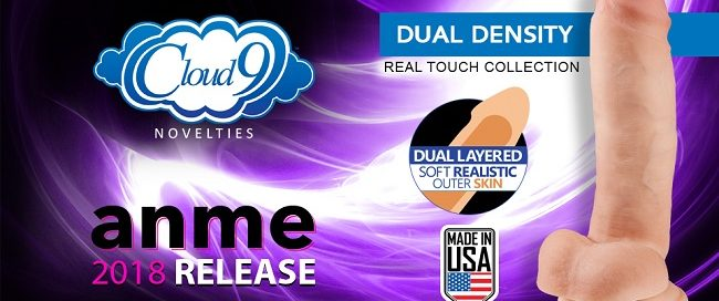 Cloud 9 Novelties Debut Dual Density Line