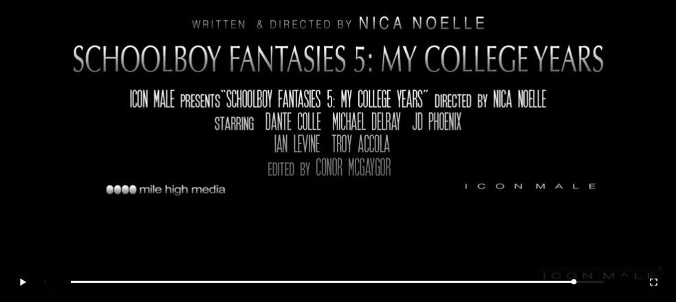 Schoolboy Fantasies 5 movie trailer