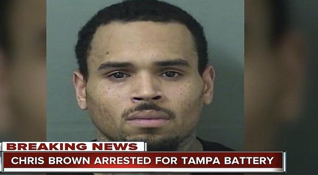 Singer Chris Brown Arrested