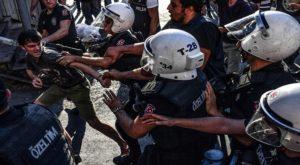 Turkish Police Fire Tear Gas