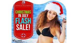 Christmas In July Warehouse Flash Sale