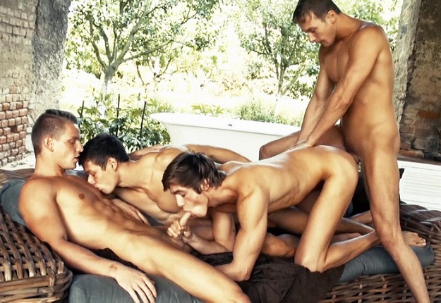 Summer Break 3 - Foursome Scene