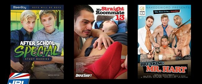 Gay adult DVD new releases - 083018