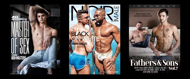 Gay Adult DVDs for August 21, 2018 - Coming Soon to Retail