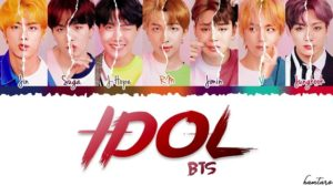 BTS Nwe Music VIdeo Idol