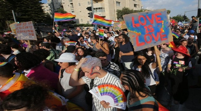 Jerusalem Pride 2018 Draws 35,000 Participants