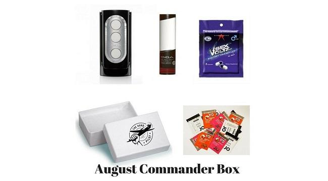 The Hand Pilot Announces August Commander Box for Men