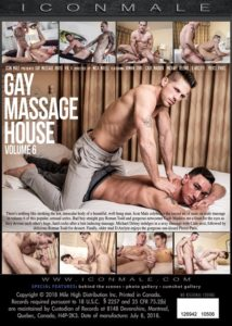 gay massage house 6 DVD backcover