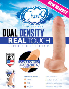 Cloud 9 Novelties Dual Density Collection Real Touch