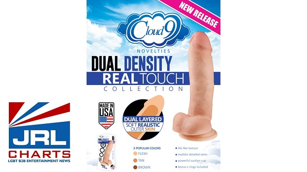 Cloud 9 Dual Density-Real Touch Dildos-Williams Trading