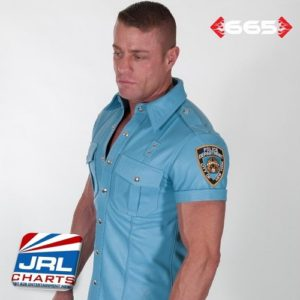 NYPD Leather Shirt by 665 Leather