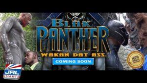 blak panther gay porn parody