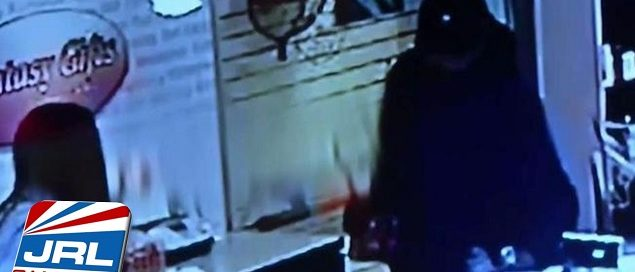 Adult Novelty Store Fantasy Gifts Robbed With Tire Iron, Watch