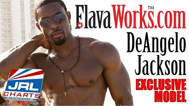 DeAngelo Jackson On Location In Brazil Shooting for Flava Works