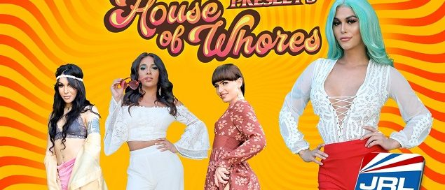 Domino Presley's House of Whores By Grooby Streets on DVD