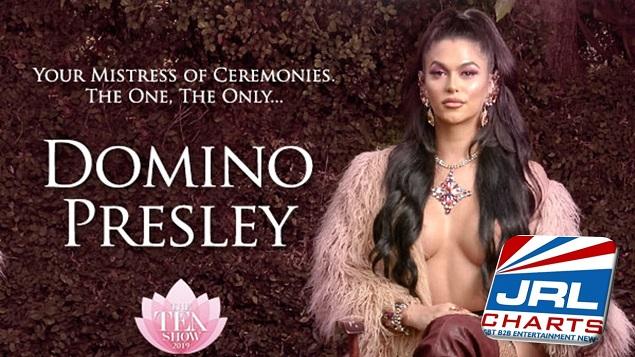 Domino Presley Announced as TEA's Mistress of Ceremonies