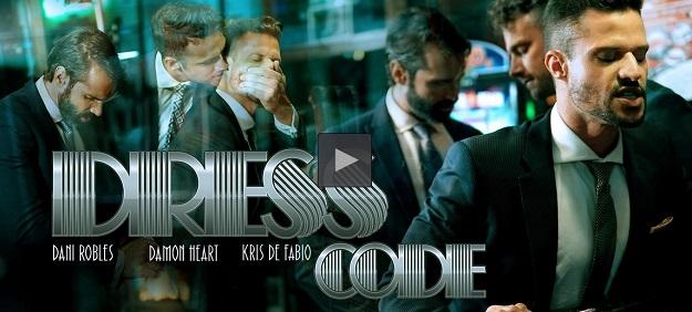 Dress Code movie trailer - Dani Robles, Damon Heart, Kris De Fabio