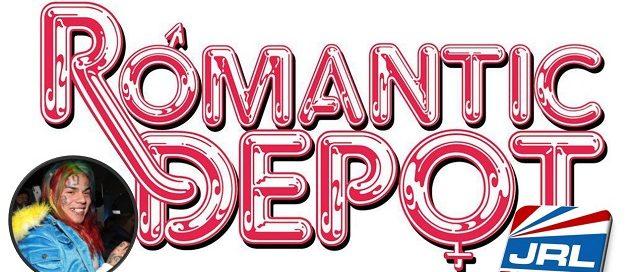 Hip-Hop Rapper 6ix9ine Drops Into Romantic Depot Adult Store