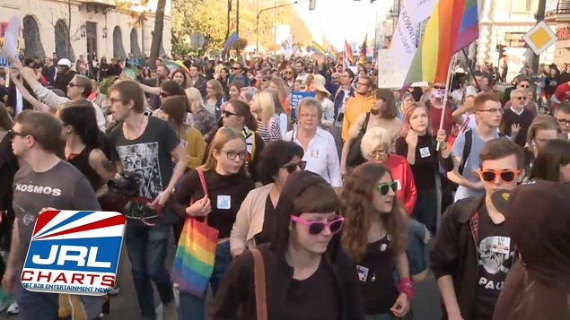 Polish Police Use Tear Gas on Right Wing Protesters Gay Pride March
