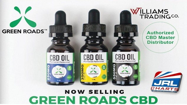Williams Trading New Line of Green Roads CBD Products (Watch)