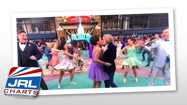 Conservatives Outraged Over Same-Sex Kiss At Macy's Parade