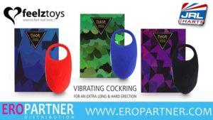 Feelztoys Vibrating Cock Ring 'Thor' Now In Stock at Eropartner