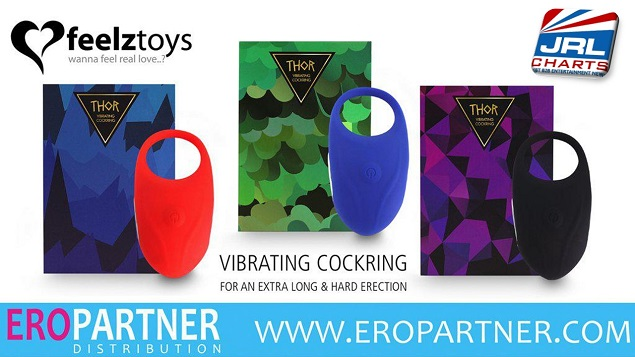 Feelztoys Vibrating Cock Ring 'Thor' Now In Stock at Eropartner