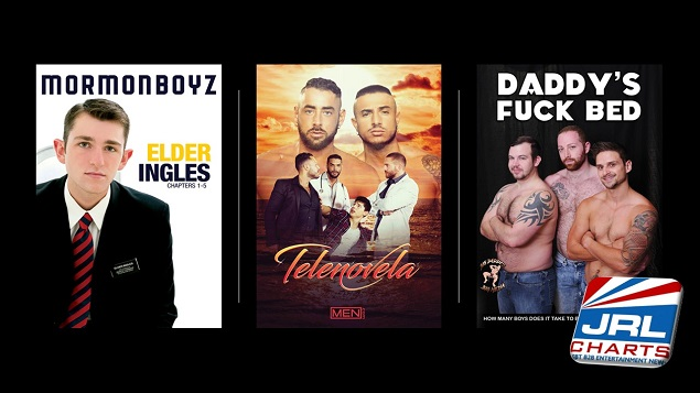 Gay Adult DVDs New Releases and Coming Soon - 111218-JRL-CHARTS