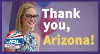 Kyrsten Sinema Makes History Being Elected 1st Bisexual Senator