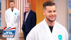 Love Island Star Chris Hughes Testicles Exam on Live TV screenclip-2