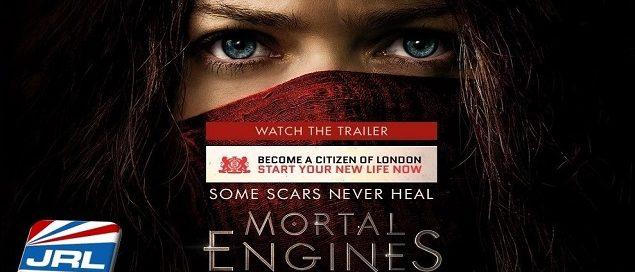 Mortal Engines (2018) - Peter Jackson's Sci-Fi Thriller Is Superb