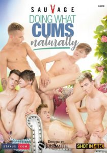 doing what cums naturally DVD gay porn
