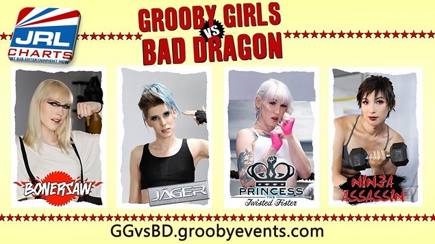 Grooby Debuts 'Grooby Girls Vs. Bad Dragon' Adult Web Series