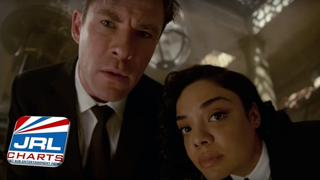 Men in Black 4 International - Chris Hemsworth and Tessa Thompson
