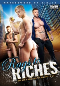 Rags to Riches DVD - gay porn - NakedSword Originals DVD