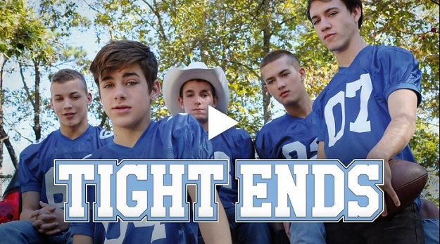 Tight Ends - Helix Studios gay twinks porn bareback movie trailer