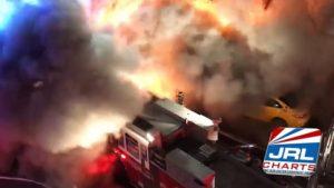 Watch Backdraft Fire Explosion Destroy Romantic Depot NYC