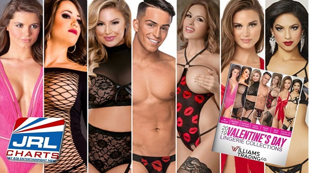 Williams Trading Valentine's Day Lingerie Digital Catalog
